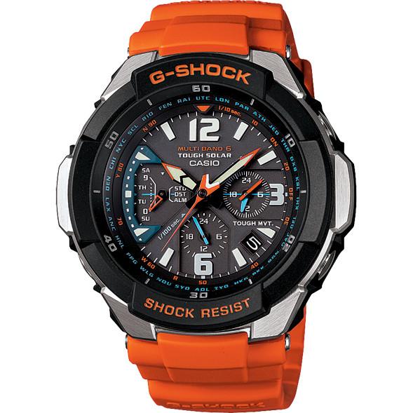 gw 3000m 4aer g shock aviator gravity defier orange watch watcho rh watcho co uk