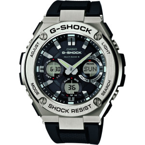 G-Shock G-Steel Radio Controlled Solar Powered Watch GST-W110-1AER