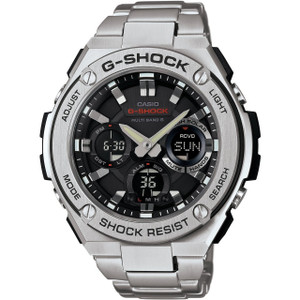 G-Shock G-Steel Radio Controlled Solar Powered Watch GST-W110D-1AER