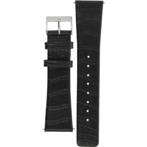 Skagen Replacement Watch Strap Black Leather 22mm For 858XLSLC