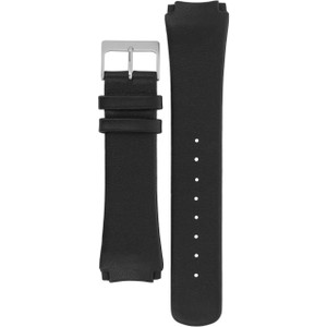 Skagen Replacement Watch Strap Black Leather 17mm For 989XLSLB