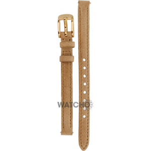 Fossil Replacement Watch Strap Brown Leather 8mm For ES3139 With Free Connecting Pins