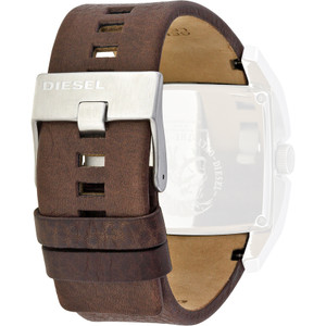 Diesel Replacement Watch Strap Brown Leather For DZ1273