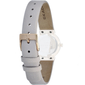 Skagen Replacement Watch Strap Cream Leather 12mm For 358XSRLT With Free Connecting Screws