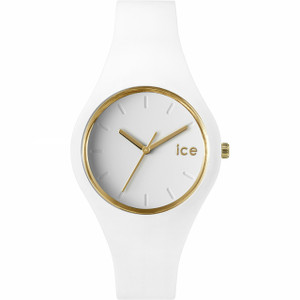 Ice Watch Only Time White Glam Watch Small Size ICE.GL.WE.S.S.14