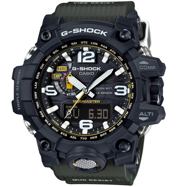 G-Shock Mudmaster Tough Movement Triple Sensor Mud Resistant Watch GWG-1000-1A3ER