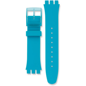 Swatch Rebel Replacement Strap Turquoise ASUOL700