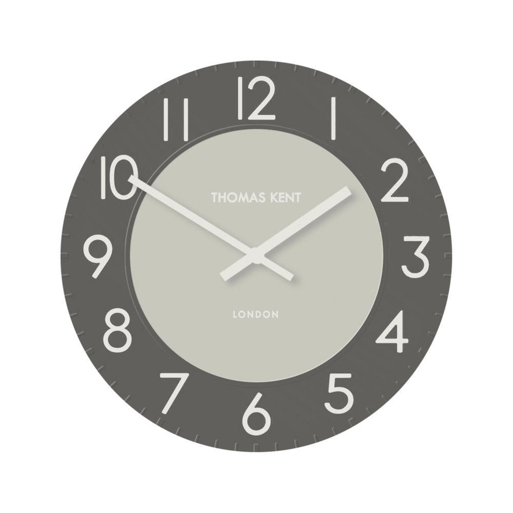 Thomas Kent Townhouse 30cm Wall Clock Grey Ckk1203