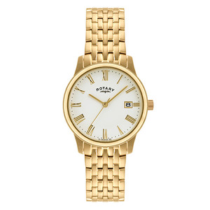 Rotary Gold Plated Men's Bracelet Watch GB00794/32