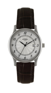 Rotary Brown Leather Strap Men's Watch GS00792/22