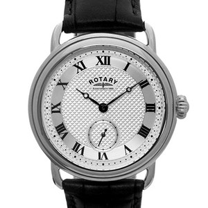 Rotary Sherlock Vintage Watch With Classic Black Strap GS02424/21