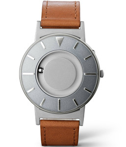Eone Bradley Braille Tactile Watch For Blind Voyager Brown Leather