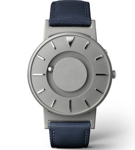 Eone Bradley Braille Tactile Watch For Blind Blue Canvas