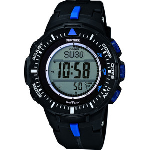 Casio Pro Trek Solar Powered Digital Dial Black Watch PRG-300-1A2ER