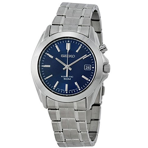 Seiko Kinetic Powered Sports Style Blue Dial Watch SKA267P1