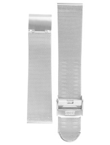 Storm Genuine Replacement Watch Strap Stainless Steel D401For Sotec Silver With Pins