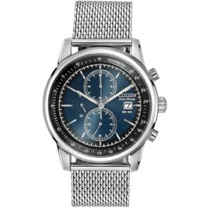 Citizen Mens Eco Drive Mesh Bracelet Watch CA0331-56L