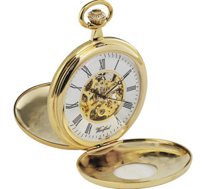 Woodford 17 Jewel Skeleton Pocket Watch 1077