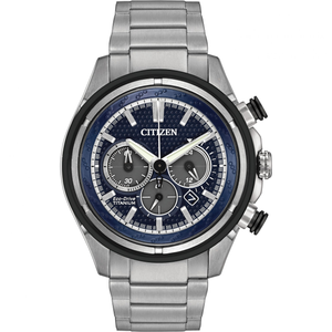 Citizen Men's Titanium Eco-Drive Watch CA4240-82L
