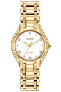 Citizen Ladies 6 Diamond Eco-Drive Watch EM0282-56A