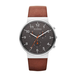 Skagen Ancher Mens Chronograph Watch SKW6099