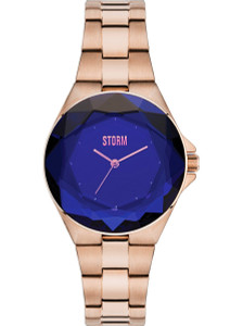 Storm Crystana Rose Gold Blue 47254/B