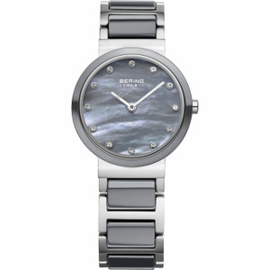 Bering Ladies Ceramic Crystal Watch 10725-789