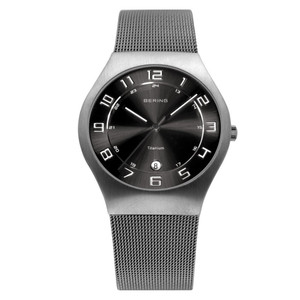 Bering Mens Titanium Classic Watch 11937-077