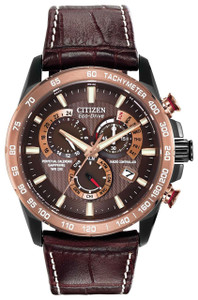 Citizen Radio Controlled Eco Drive Perpetual Calendar Watch AT4006-06X