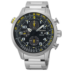 Seiko Mens Solar Chronograph Watch SSC369P9
