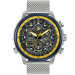 Citizen Blue Angels Navihawk Aviator Watch JY8031-56L