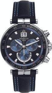 Michel Herbelin Gents Newport Chronograph Watch 36655/AN65