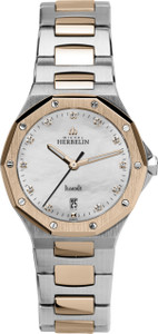 Michel Herbelin Ladies Odyssee Two Tone Bracelet Watch 14231/BTR89