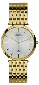 Michel Herbelin Gents Epsilon Classic Watch Gold 414/BP11