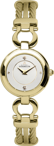 Michel Herbelin Ladies Gold PVD Cable Watch 17422/BP11