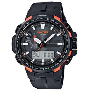 Pro Trek Mens Orange Triple Sensor Watch PRW-6100Y-1ER