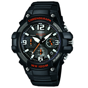 Casio Mens Core Chronograph Watch MCW-100H-1AVEF
