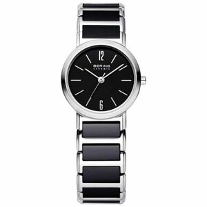 Bering Ladies Black Ceramic Watch 30226-742