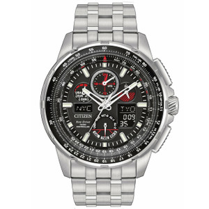 Citizen Mens Skyhawk Radio Controlled Eco Drive Watch JY8050-51E