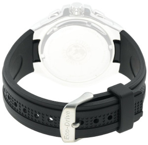 Citizen Genuine Replacement 13mm Black Rubber Strap For BL5334-04E