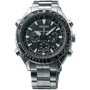 Seiko Mens Radio Controlled Prospex Chronograph Solar Watch SSG001P1