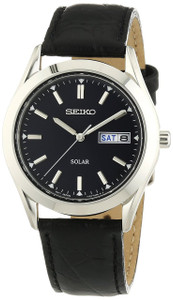 Seiko Mens Solar Powered Dress Watch SNE049P9