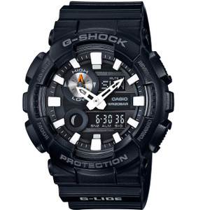 G-Shock Mens Dual Display Moon And Tide Watch GAX-100B-1AER