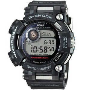 G-Shock Mens Frogman Divers Solar Radio Controlled Watch GWF-D1000-1ER