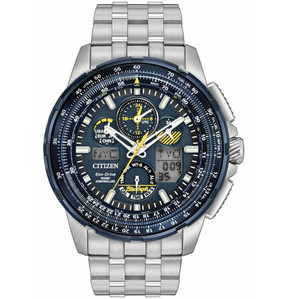 Citizen Men's Skyhawk Radio Controlled Eco-Drive Watch JY8058-50L