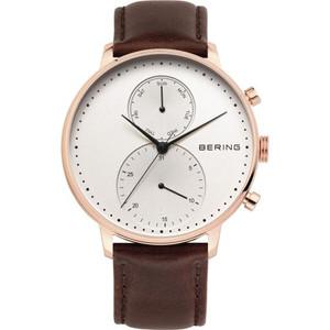 Bering Snowman Men's Quartz Silver Dial Watch 13242-564