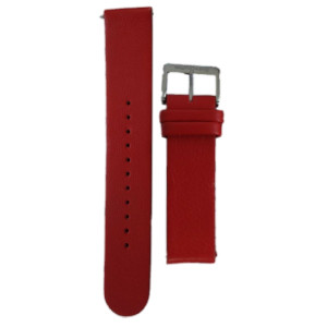 Mondaine Replacement Watch Strap Red Leather 20mm FE2422030Q1 For Stop2Go Watches