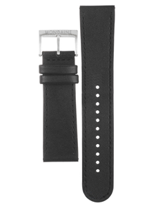 Mondaine Replacement Watch Strap Black Leather 20mm FE2532020Q1 For Stop2Go Watches