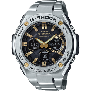 G-Shock Metal Stainless Steel Radio Controlled Solar Watch GST-W110D-1A9ER