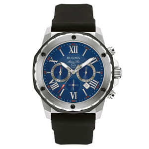 Bulova Marine Star Men's Chronograph Watch 98B258